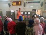 Экскурсия на железнодорожный вокзал